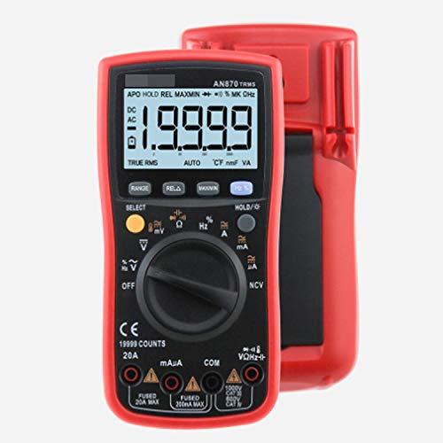 Tester Digital Multi AN870 multímetro digital 19999 Counts Multímetro RMS transistor Tester...