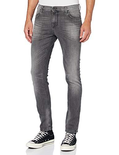 Sisley Trousers Pantaloni, Black 700, 42 Uomo