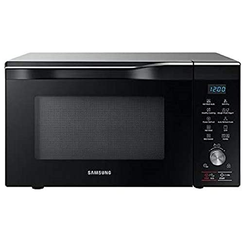 Samsung MC32K7055CT Forno Microonde Grill Combinato, 32 Litri, Hotblast, 1400 W, Grill XXL, con Piatto Doratore, Argento Inox