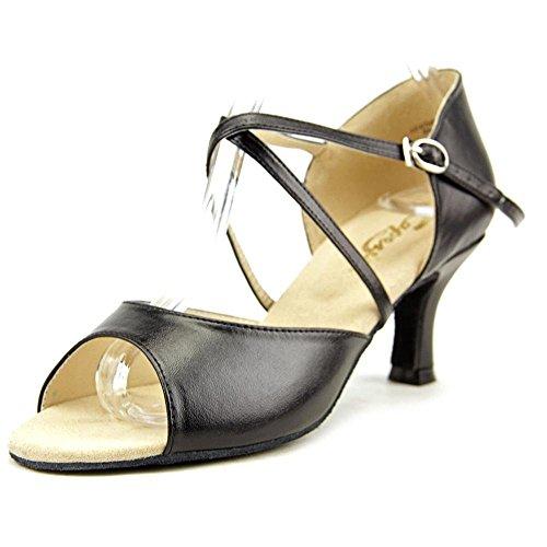 Capezio Women's Eva 2' Social Dance Shoe,Black,5 M US