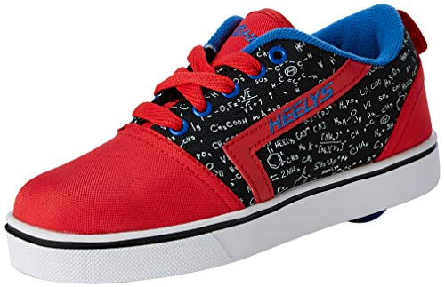 Heelys Unisex-Kinder GR8 Pro Prints (he100638) Sneaker, Rot (Red/Black/Blue/Chemistry Red/Black/Blue/Chemistry), 33 EU