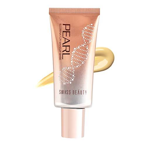 Swiss Beauty Foundation Pearl Illuminator, Face MakeUp,golden-Pink, 35gm
