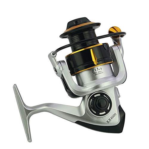 JKHOIUH Mulinello Mulinello da Pesca con Bilanciere in Metallo (Size : KR7000)