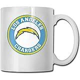 Becher Einheitsgröße Lustige coole Tassen Los Angeles Chargers White Cups