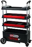 KS Tools 895.0000 BUTLER Werkzeugwagen / Montagewagen, klappbar, absenkbar und verschließbar