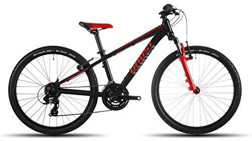 GHOST Powerkid 24 black/red/gray - Kindermountainbike Modell 2016 by GHOST Bikes