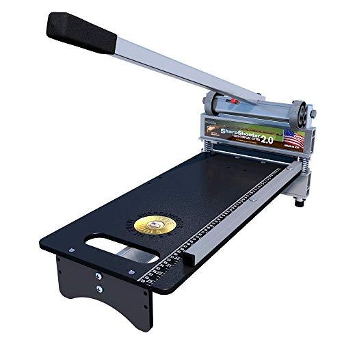 Bullet Tools - ES00-2009 9 inch EZ Shear Sharpshooter 2.0 Laminate Flooring & Siding Cutter, 1 Year Warranty
