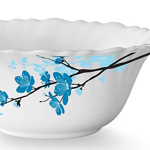 Larah By Borosil 4.5 inch Veg Bowl - Set of 6 - Mimosa