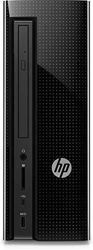 HP Slimline 270-p033w Desktop Tower, Intel Celeron G3930 CPU, 4GB RAM, 500GB HDD Windows 10