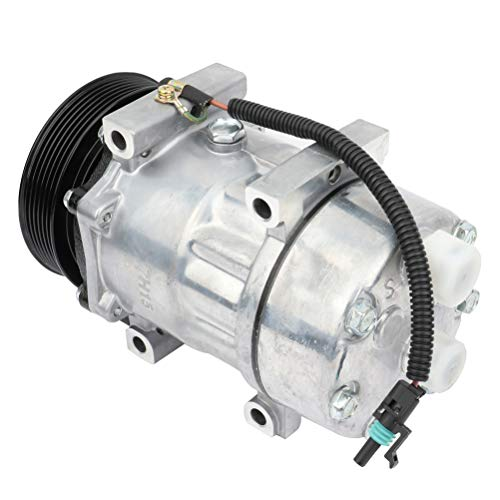 INEEDUP AC Compressor and A/C Clutch for 1994-1996 for Jeep for Cherokee 2.5L CO 4702C -  104211-5208-1357434461
