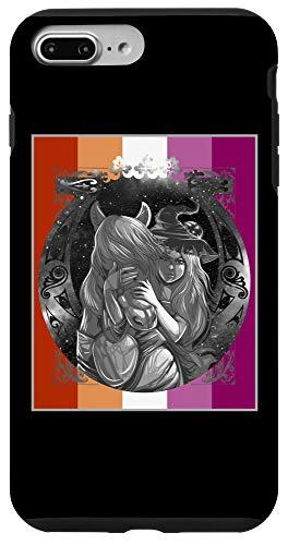 iPhone 7 Plus/8 Plus Lesbain Flag Pastel Goth Horse Witch Lesbian Case