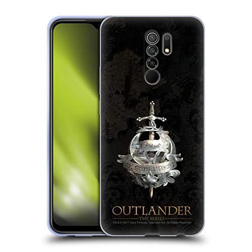 Head Case Designs Licenciado Oficialmente Outlander Broche Fraser Sellos e Iconos Carcasa de Gel de Silicona Compatible con Xiaomi Redmi 9