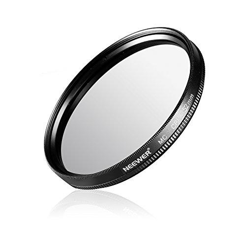 Neewer- 52 mm CPL Circular Polarizador Filtro multibesch Instalación con gamuza para lente de cámara con un filtro 52 mm rosca