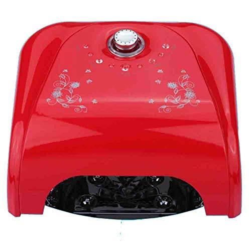 Lampes UV Sèche-Ongles Induction LED Rotation Timing Lampe Phototherapy Plaque Inférieure De La Plaque De La Plaque Des Mains Et Des Pieds Double Usage 220v