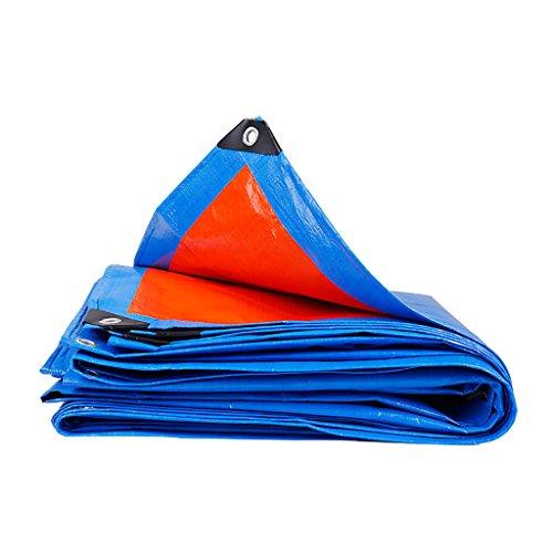 Abdeckplanen Regenschutztuch/Markisentuch für den Außenbereich/wasserdichte Tuchplane/gewebter PE-Sonnenschutz/Sonnenschutz Markisentuch-160g / m2, Dicke 0,35 mm (19 Größen) (größe : 2 * 10m)