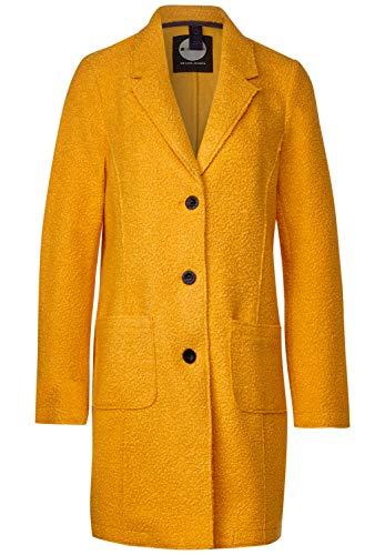 Street One Damen A201503 Mantel, golden Yellow, 42