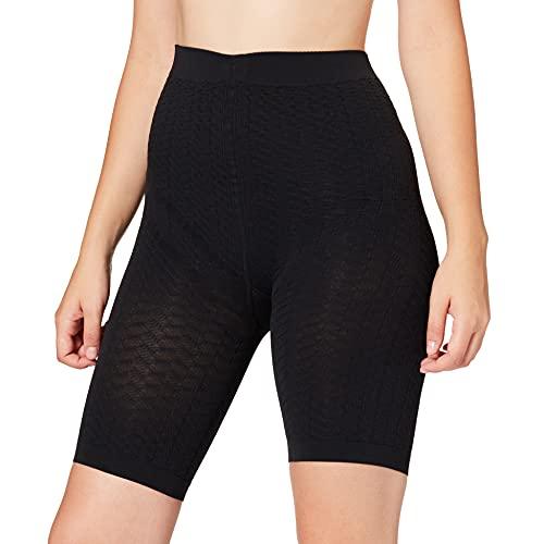 FALKE Damen Cellulite Control W PA Oberschenkel-Shapewear, 20 DEN, Schwarz (Black 3009), XL