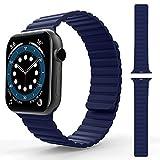 TOOVREN Kompatibel mit Apple Watch Armband 38mm 40mm 42mm 44mm, Herren Damen Einstellbar Sport...