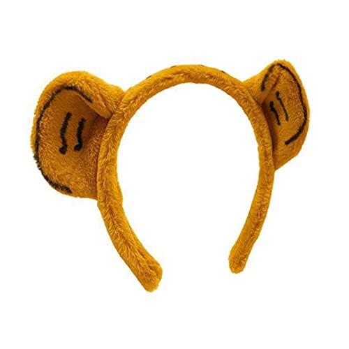 rosenice Tigre Oreille Bandeau 2022 Nouvel An Coiffe Mignon Animal Oreille Bandeau Animal Thème Partie Cosplay Coiffes pour Femmes Hommes Enfants