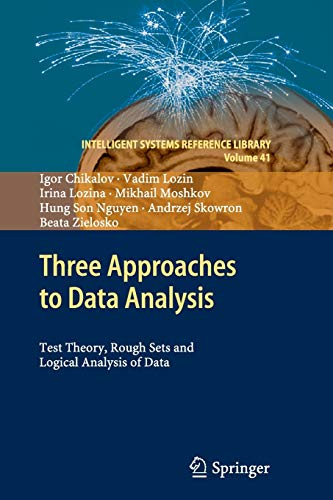 Three Approaches to Data Analysis: Test Theory, Rough Sets and Logical Analysis of Data: 41