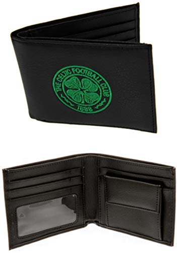 Celtic FC Crest Leather Wallet - Official Merchandise Executive Gift 7000