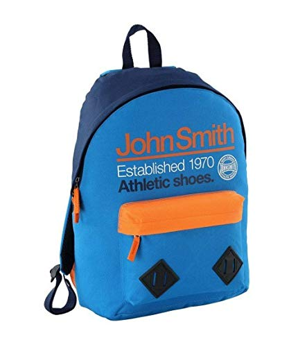 John Smith Mochila Azul M17204 REAL