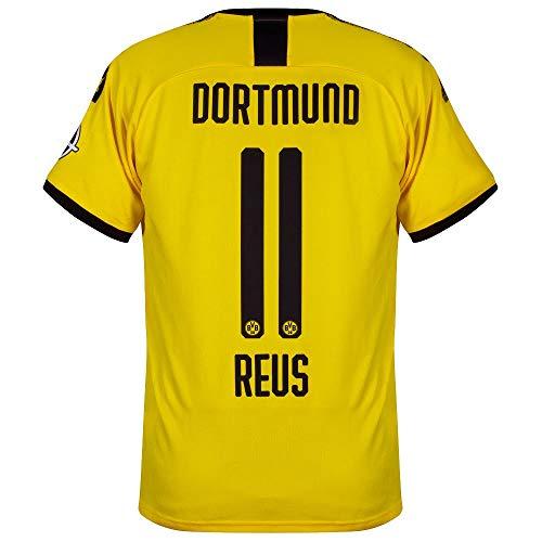 PUMA Borussia Dortmund Home Reus 11 Trikot 2019-2020 (Offizielle Beflockung) - M