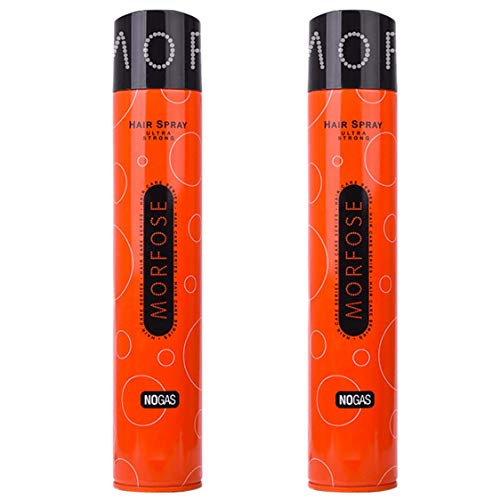 Morfose 2x Haarspray Ohne Gas No Gas Ultra Strong je 400 ml = 800 ml