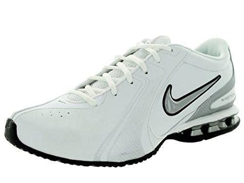 Nike Men's Reax TR III SL Cross Trainer (9 D(M) US, White/Metallic Silver)