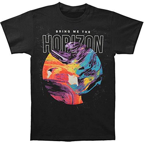 Bring Me The Horizon Offizielles Circle T Shirt (Schwarz) - Medium