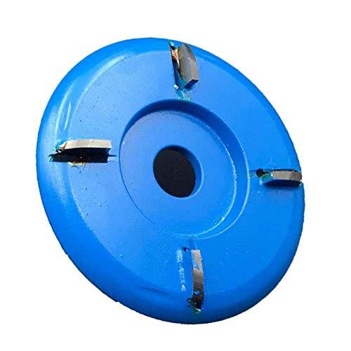 GFHDGTH 90mm Power Holzschnitzerei Schleifer Kettensägen Disc, Holzbearbeitung Kettenplatte Werkzeug Geeignet für Holzschnitzerei Couchtisch