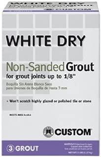 Custom Building Product WDG5 5 lb Non-Sanded White Tile Grout