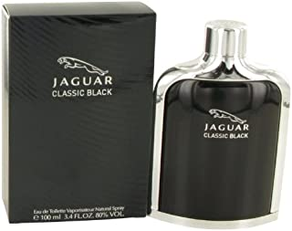 Jâgúâr Classic Black by Jâgúâr for Men Eau De Toilette Spray 3.4 oz