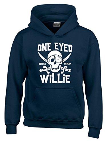 The Goonies One Eyed Willie Men's Hooded Sweatshirt, S to XXL