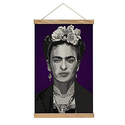 WPQL Frida Kahlo De Rivera - Póster decorativo para comedor, estudio, bar y gimnasio