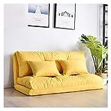 HUATAN Plegable Perezoso pequeño sofá Cama sábana