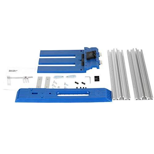 ATNR Système de rail de guidage pour machine de coupe - Multifonction - Scie circulaire - Outil de coupe auxiliaire - Scie de levage - Plaque inférieure pour le travail du bois