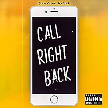 Call Right Back (feat. Jay Soul)