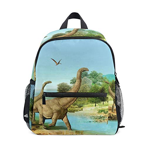 LUPINZ Jurassic Dinosaurs World Pattern Kids Pre-School Toddler Bag Kindergarten Backpack