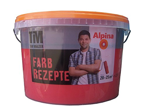 ALPINA Farbe Tim Mälzer Farbrezepte 2,5 L, Granatapfel