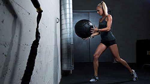 TRX Entrenamiento Balón Medicinal de Lanzamiento Hecho a Mano con Costuras reforzadas (1,8 kg)