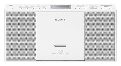Sony ZSPE60 Color blanco- Microcadena USB, CD, Radio