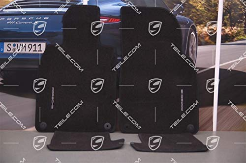 ORIG. Porsche 911 991 Fußmatten Satz vorne+hinten schwarz/Floor mat set