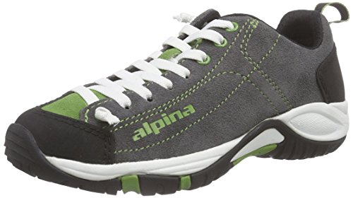 Alpina Unisex-Erwachsene 680341 Trekking-& Wanderhalbschuhe, Grün (Gray/Green), 47 EU