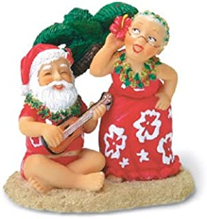 Island Heritage Santa and Dancing Mrs. Claus Ornament