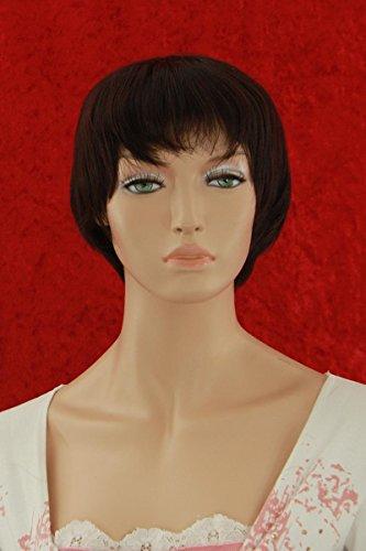 Wigs Women Short Red/Brown Trendy (perruque)
