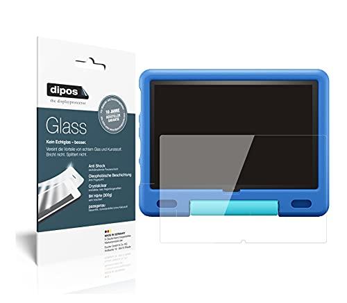 dipos I Protector de Pantalla Compatible con Amazon Fire HD 10 Kids (2021) Vidrio Flexible Cristal Proteccion 9H