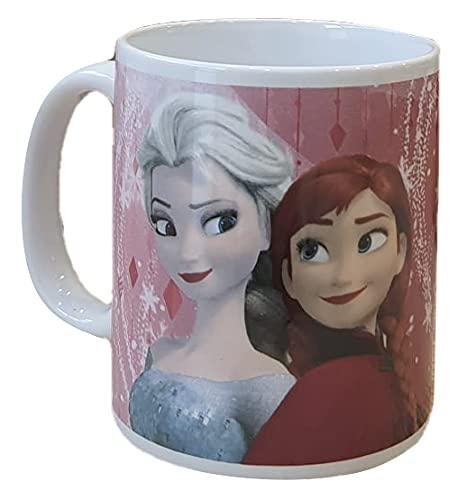 Star Copa in cerámica Mug - Frozen Elsa Anna Olaf Disney - 310 ml. - 60980