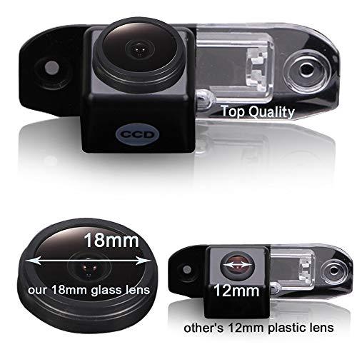 Caméra de recul de voiture avec vision nocturne, caméra de recul étanche pour Volvo S40 S40L V40 V50 VS60L V60 XC60 C70 V70 XC70 S80 S80L XC90