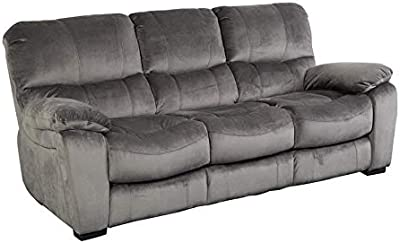 Amazon.com: Homelegance Fabric Sectional Sofa and Ottoman ...